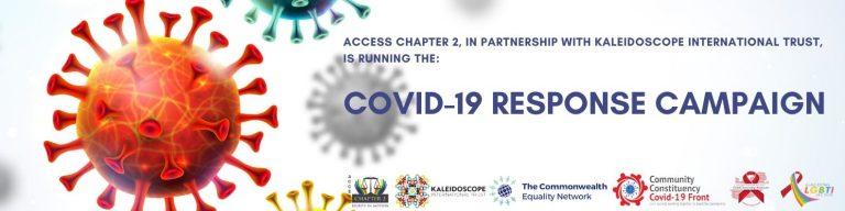 LGBTI+ Inclusive Advocacy-based COVID-19 Responses Campaign.
