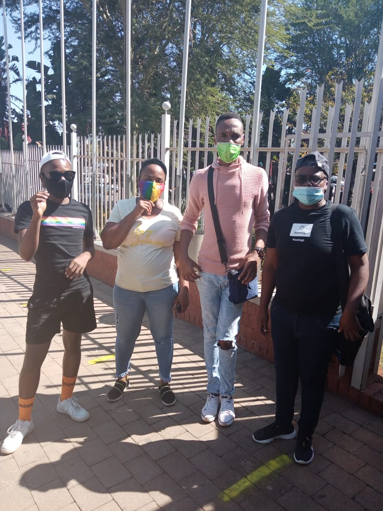 Homophobic attack perpetrator remains in custody at the Atteridgeville Magistrate's Court.